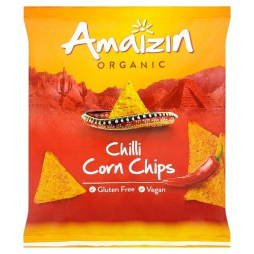 AMAIZIN Organic Chilli Corn Chips