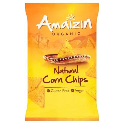 AMAIZIN Organic Natural Corn Chips Family Size