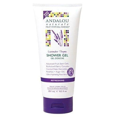 Andalou Naturals Lavender Thyme Refreshing Shower Gel