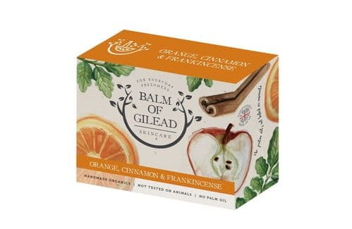 Balm of Gilead Skincare Sweet Orange Cinnamon & Frankinscence Soap