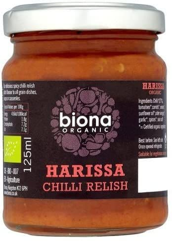 BIONA Demeter Harrissa Chilli Relish