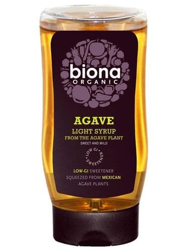 BIONA Organic Agave Light Syrup - Concentrated