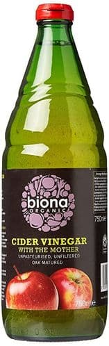 BIONA Organic Apple Cider Vinegar with Mother