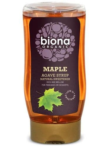 BIONA Organic Maple Agave Syrup