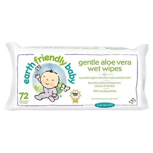 Earth Friendly Baby Organic Aloe Vera Wet Wipes
