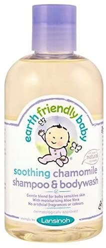 Earth Friendly Baby Soothing Organic Chamomile Shampoo & Bodywash