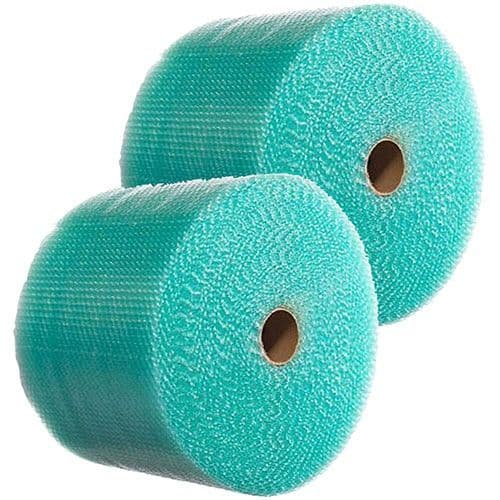 500mm x 100m Small Green Recyclable Bubble Wrap