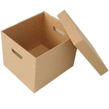 Archive Boxes With Separate Lids