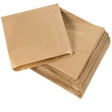 Brown Sulphite Strung Paper Food Bags