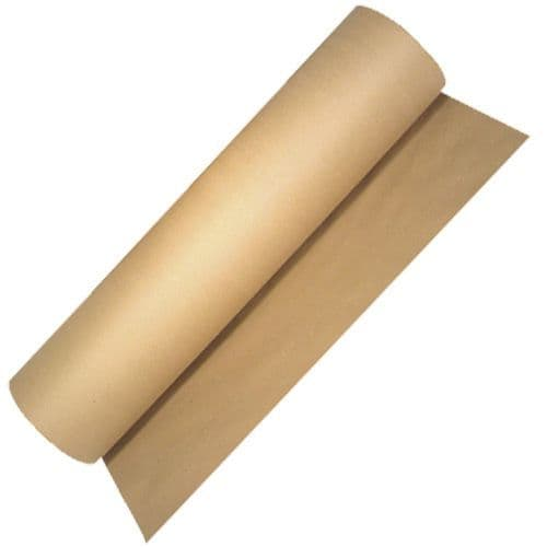 Strong Brown 90gsm 750mm Kraft Wrapping Paper on a Roll
