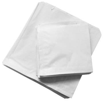 White Sulphite Strung Paper Food Bags