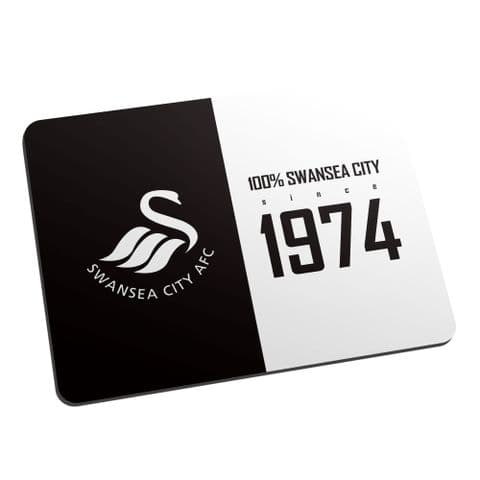 Personalised Swansea City AFC 100 Percent Mouse Mat