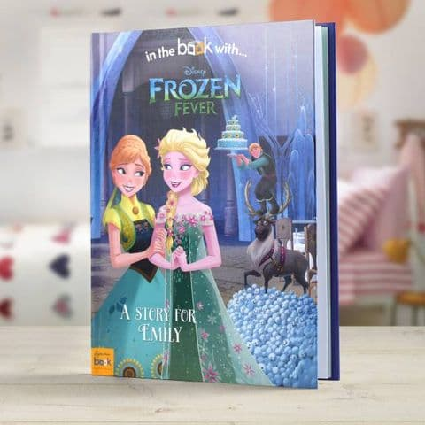 Disney Frozen Fever Personalised  Story Book