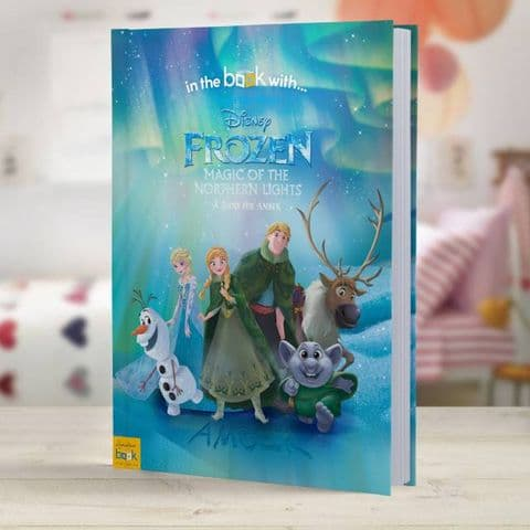 Disney Frozen Northern Lights Personalised Story Book