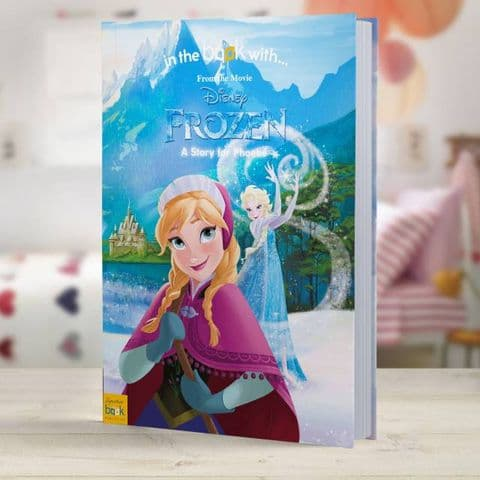 Disney Frozen Personalised  Story Book