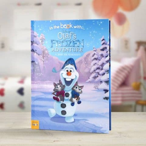 Disney Olaf's Frozen Adventure Personalised Story Book