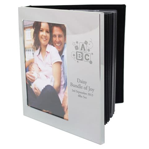 Personalised ABC Photo Frame Album 4x6