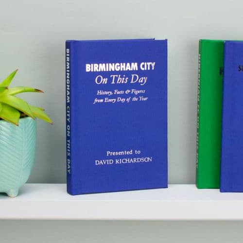 Personalised Birmingham City On This Day Book