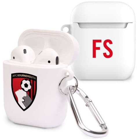 Personalised Bournemouth AirPod Case with Initials