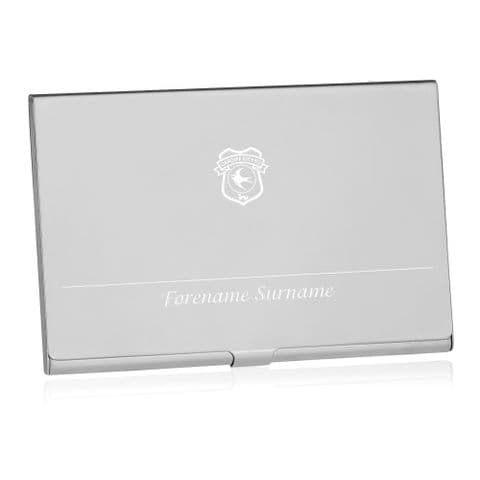 Personalised Cardiff City FC Executive Business Card Holder