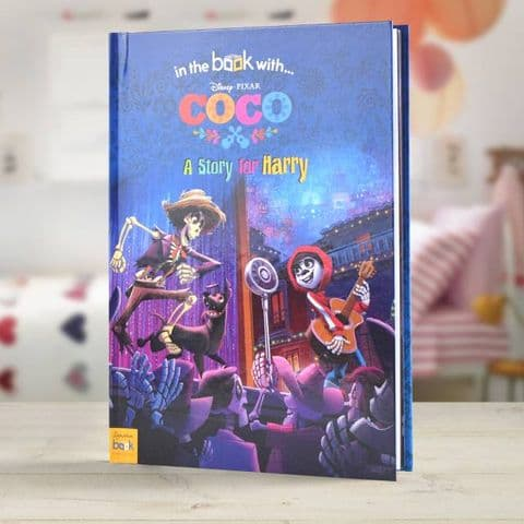 Personalised Disney Coco Story Book
