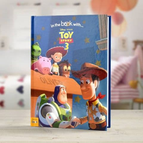 Personalised Disney Toy Story 3 Story Book