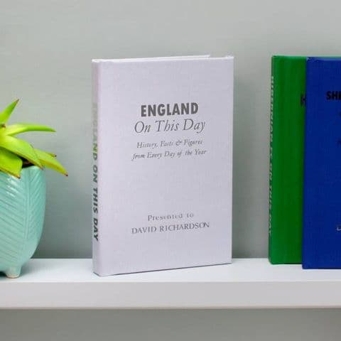 Personalised England On This Day Book