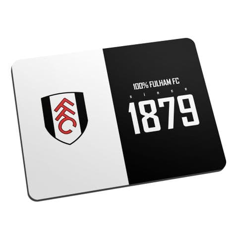 Personalised Fulham FC 100 Percent Mouse Mat