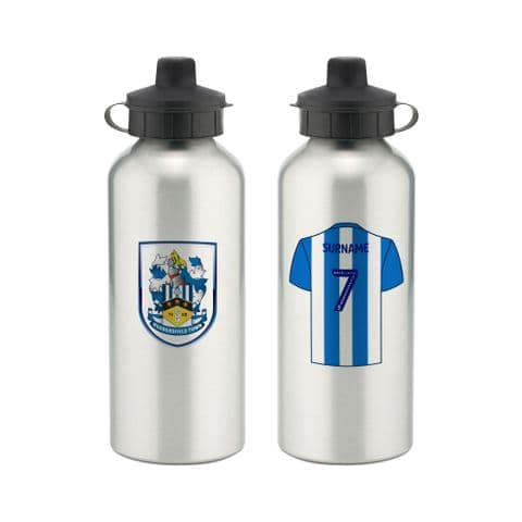 Personalised Huddersfield Town Aluminium Water Bottle