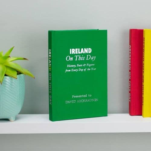 Personalised Ireland On This Day Book