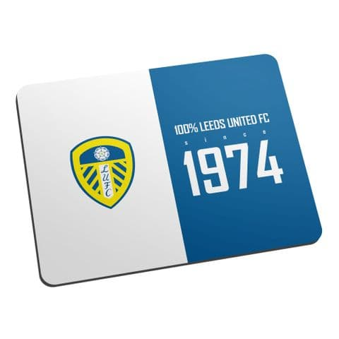 Personalised Leeds United FC 100 Percent Mouse Mat