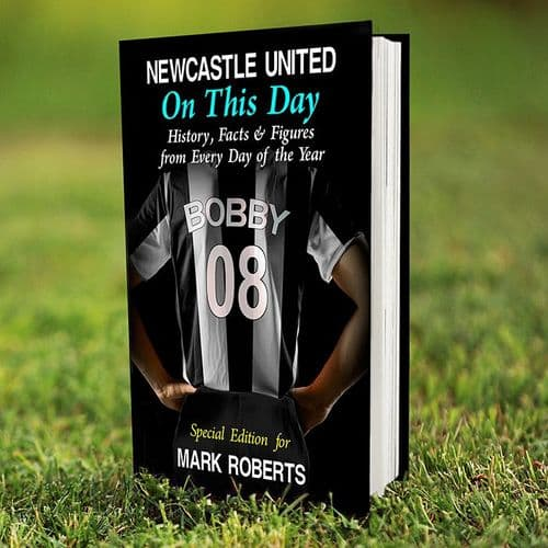Personalised Newcastle United On This Day Book