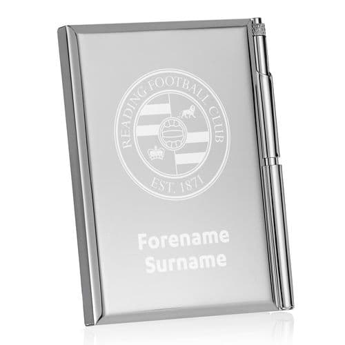 Personalised Reading FC Crest Address Book