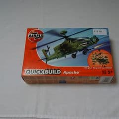 Airfix 'Quick Build' Apache Helicopter Kit