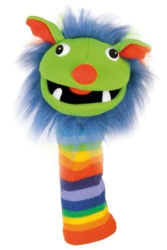 Melody Monster - Rainbow Puppet