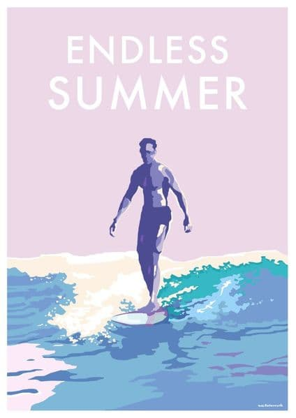 'Endless Summer' Available in A4/A2 Size Print from...