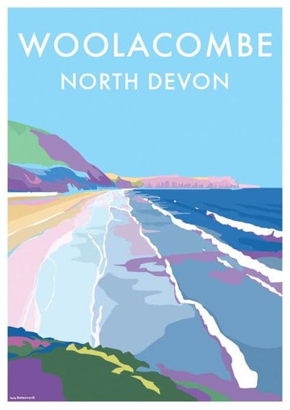 'Woolacombe' Available in A4/A2 Print from...