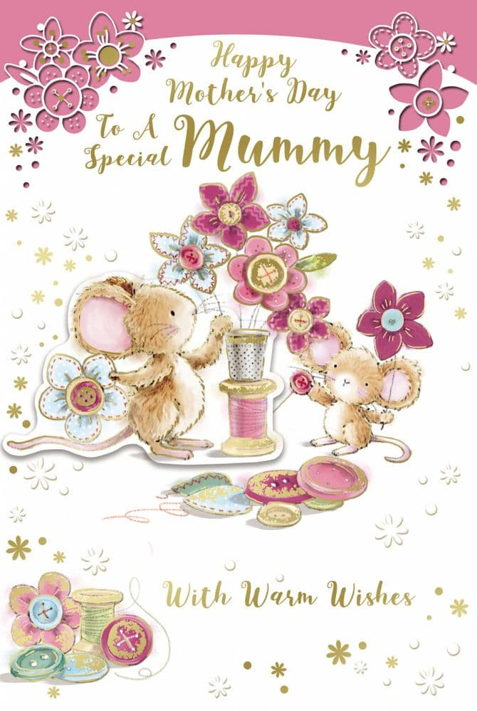 'Special Mummy' Mother's Day Card 75
