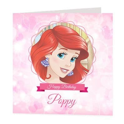 Ariel Luxury Personalised Card