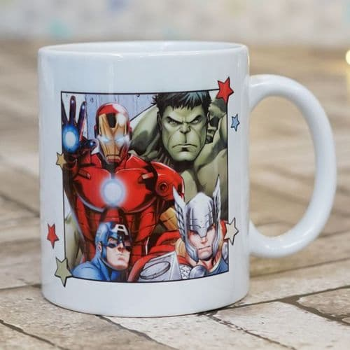 The Avengers Group Personalised  Mug - Official Disney Licensed