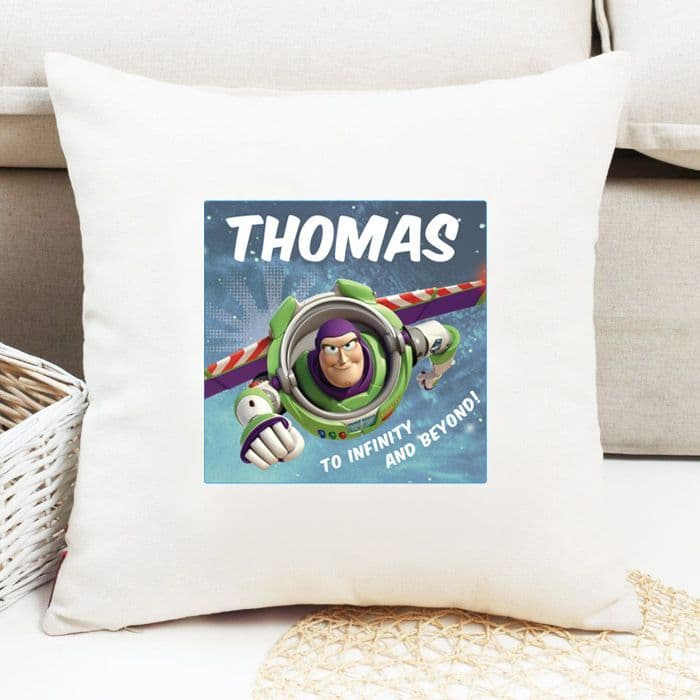 Buzz Lightyear Personalised Cushion