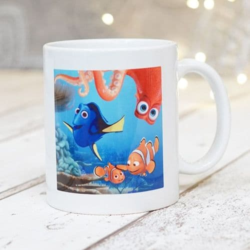 Finding Dory Personalised  Mug - Dory, Nemo & Marlin - Official Disney Licensed
