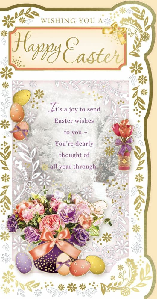 Happy Easter Card 501C