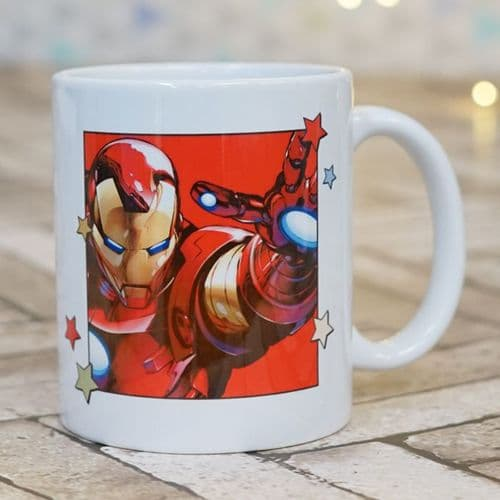 Iron Man Personalised  Mug -  The Avengers - Official Disney Licensed