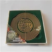 Isabelle Christmas Tree Decoration Spinner