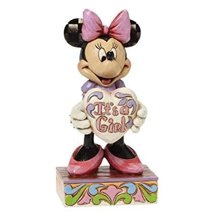 It's a Girl - Minnie Mouse Figurine