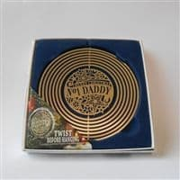 No 1 Daddy Christmas Tree Decoration Spinner