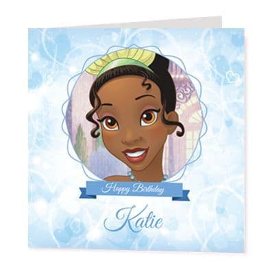 Tiana Luxury Personalised Card