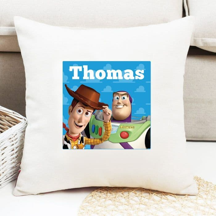 Toy Story Personalised Cushion