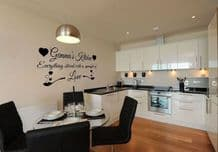 Personalised First Name 'Spoonful of Love' Kitchen Wall Art Decal Self Adhesive
